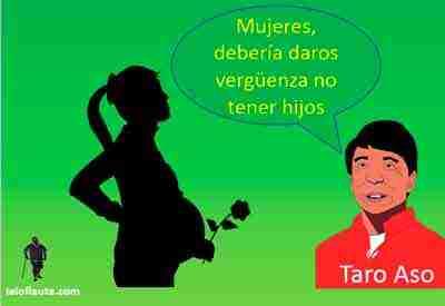 taro-aso-mujeres-tener-mas-hijos